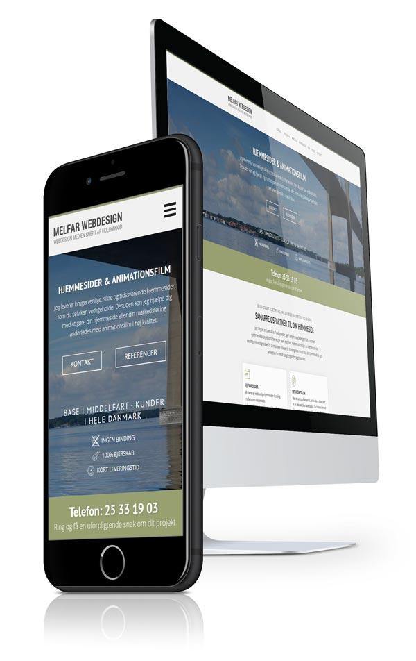 hjemmesidedesign ikon